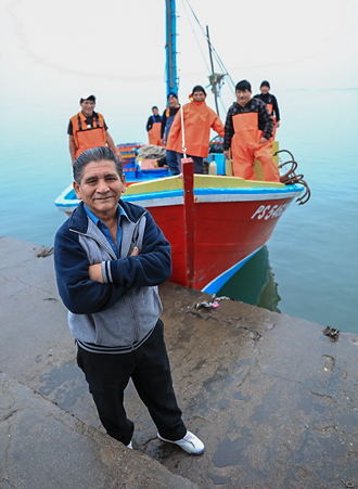 Zacarías y el mar de Pisco